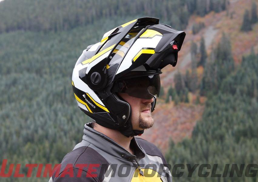 touratech modular helmet unveiled aventuro mod. Black Bedroom Furniture Sets. Home Design Ideas