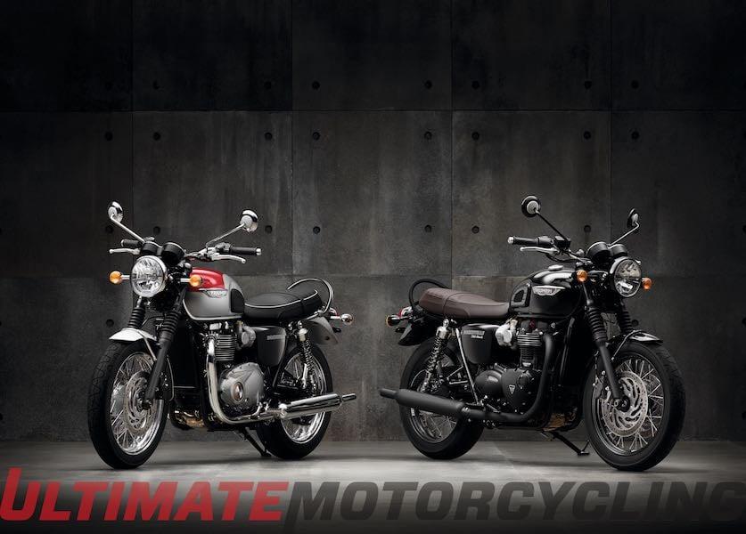 2016 Triumph Bonneville T120 T120 Black Preview