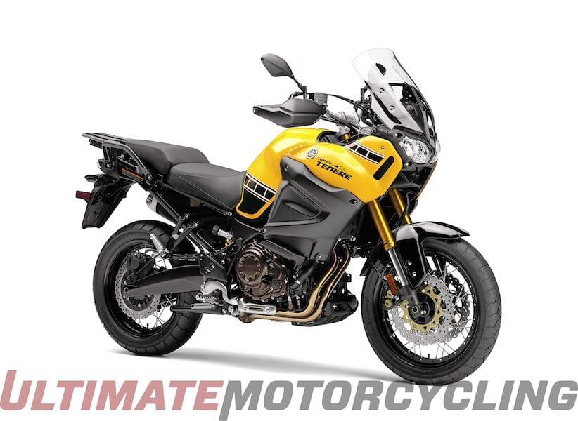 2016 Yamaha Super Tenere 60th Anniversary Yellow