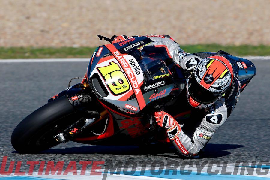 3 days of Jerez MotoGP Testing for Aprilia RS-GP Team