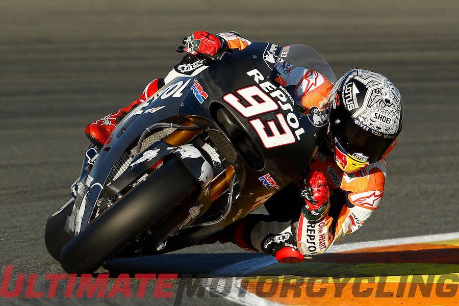2015 Valencia MotoGP Post-Season Test - Marquez Quickest