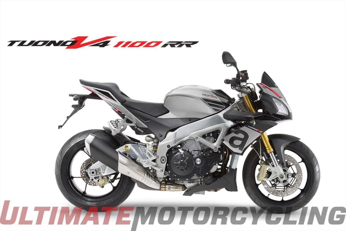 2016 Aprilia Tuono V4 1100 RR ABS specs price