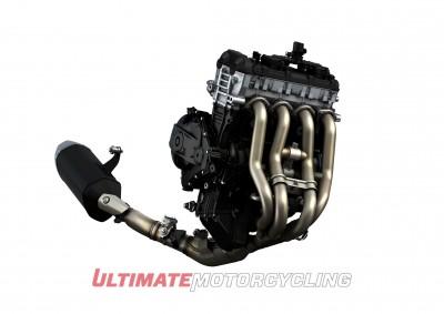 2017 Suzuki GSX-R1000 Concept engine