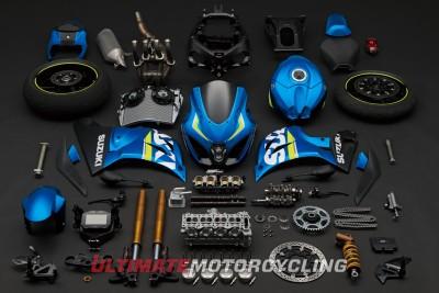 2017 Suzuki GSX-R1000 Concept pieces