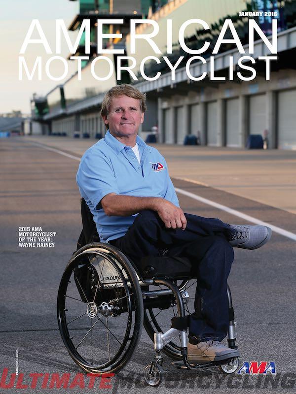 Wayne Rainey - 2015 AMA Motorcyclist of the Year