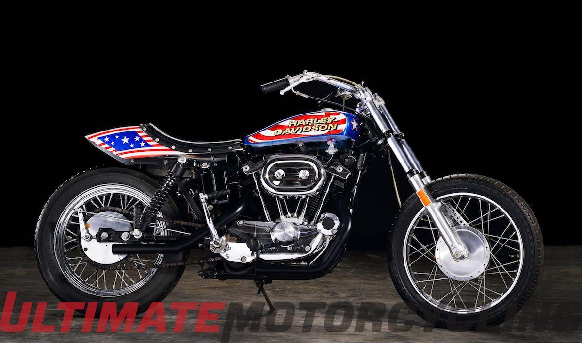 Evel Knievel 'Viva Knievel' Harley XL 1000 on the Block