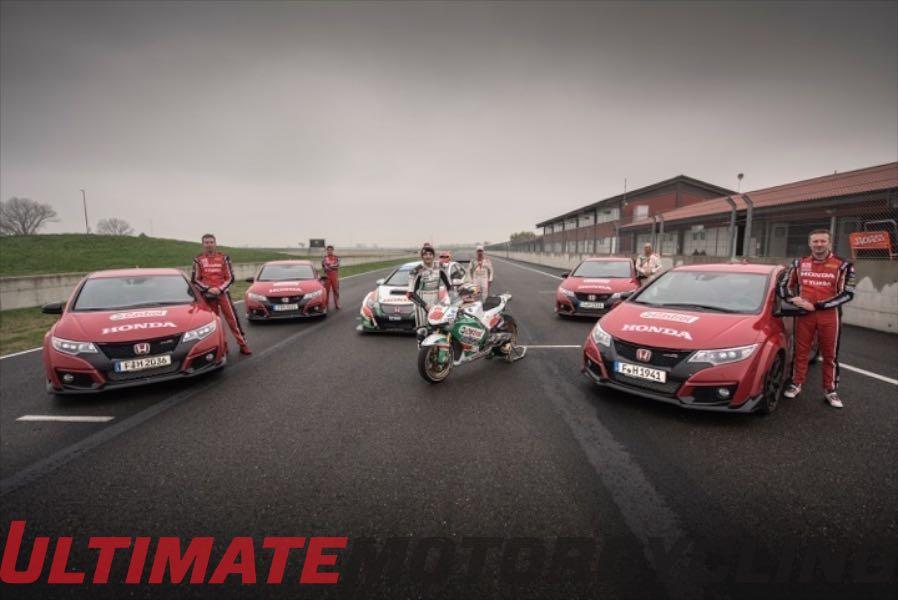 Honda RC213-V MotoGP Vs. Honda Race Cars | Video