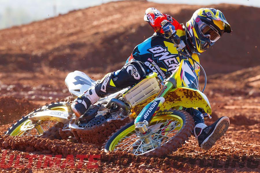 Yoshimura Suzuki's Blake Baggett Injured in SX Practice