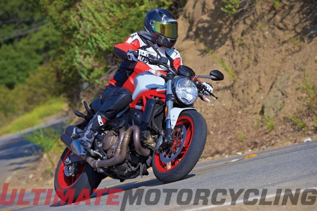 Top 15 New Bikes Ridden In 2015   Ducati's 821