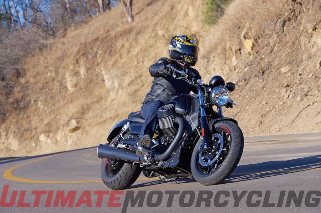 Top 15 New Bikes Ridden In 2015   Moto Guzi Audace