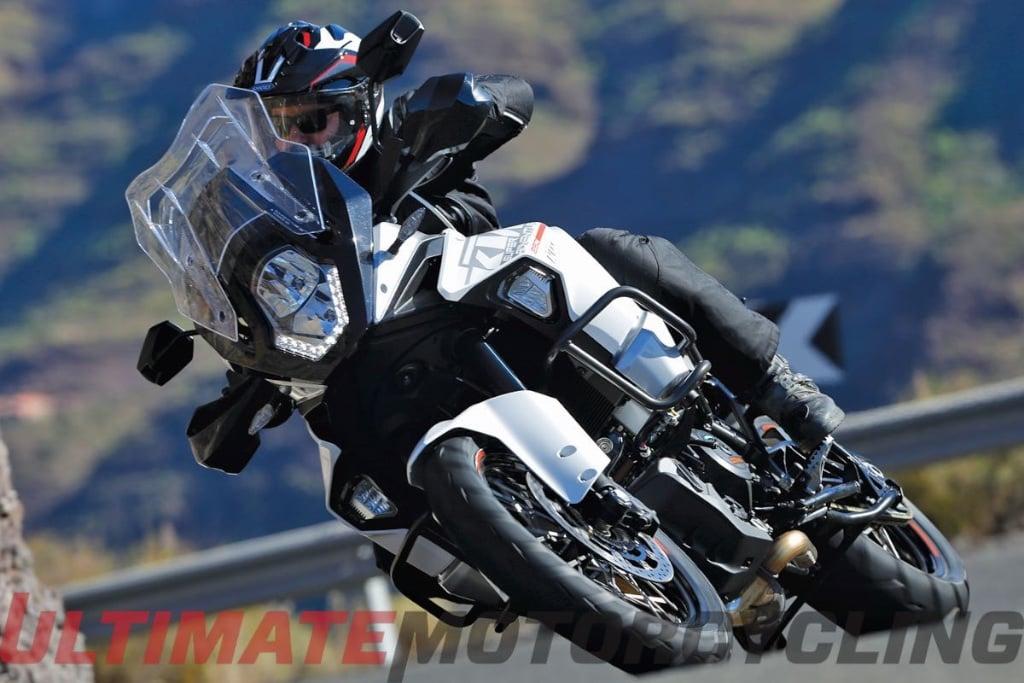 Top 15 New Motorcycles Ridden In 2015   KTM Super Adventure