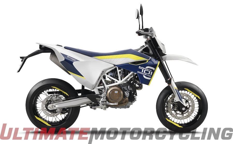 2016 Husqvarna 701 Supermoto horsepower