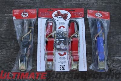 ShockStrap Ratchet Safety Strap Review | Motorcycle Strap Test