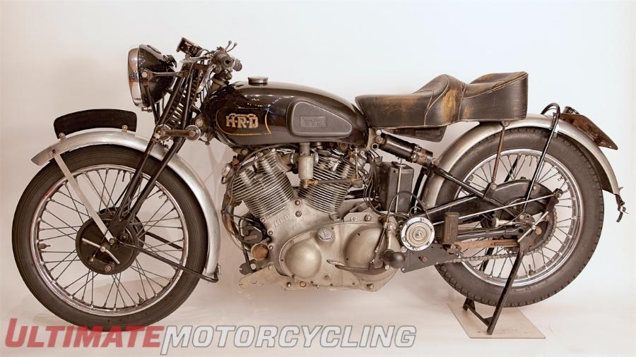 1946 Vincent Rapide Prototype