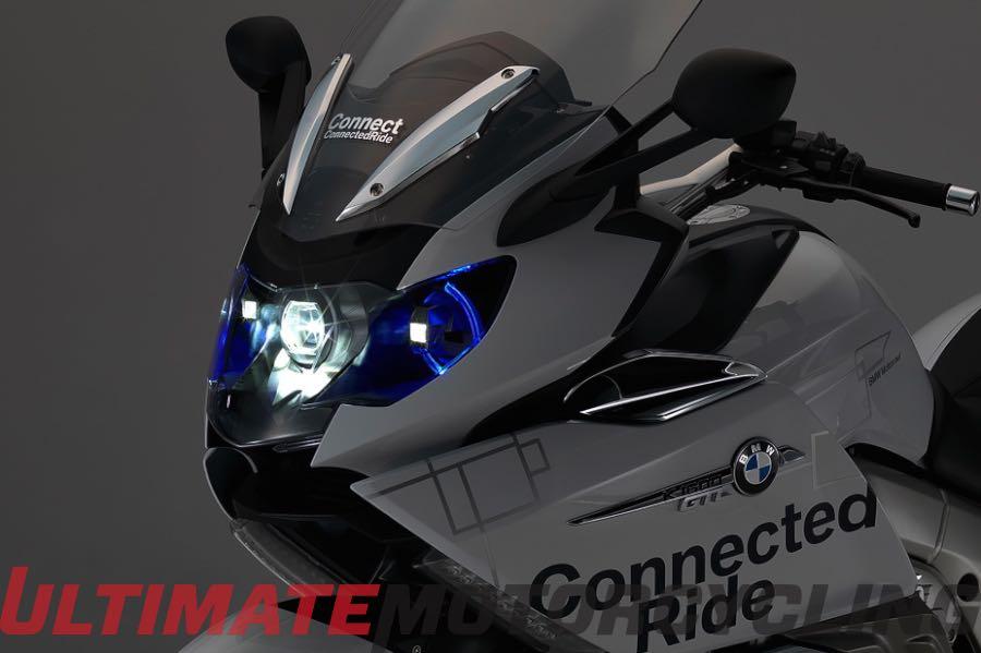 BMW Laser Light Presented on K 1600 GTL Concept Motorcycle