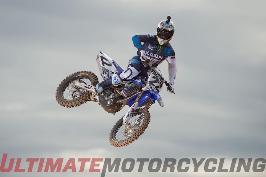 Chad Reed Rejoins Yamaha Factory Racing YZ450F