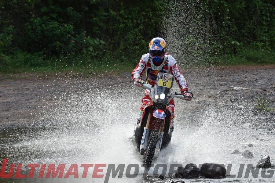 Dakar Rally 2016 Stage 3 Results | Honda Joan Barreda