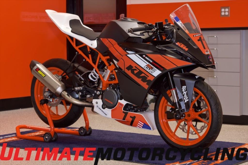 Ktm Rc Cup 2016 Racebike Details Motoamerica Schedule