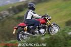 2016 Triumph Thruxton R test ride in Portugal