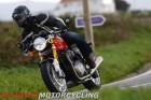 2016 Triumph Thruxton R on the road