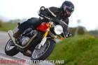 2016 Triumph Thruxton R cornering