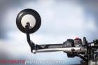 2016 Triumph Thruxton R mirror