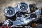 2016 Triumph Thruxton R clocks