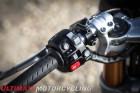 2016 Triumph Thruxton R switchgear