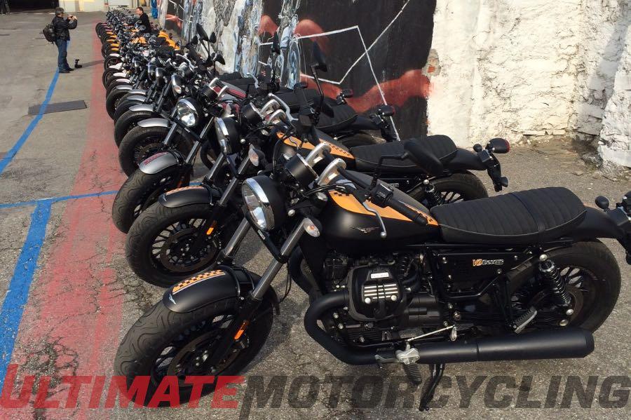 2016 Moto Guzzi V9 Review