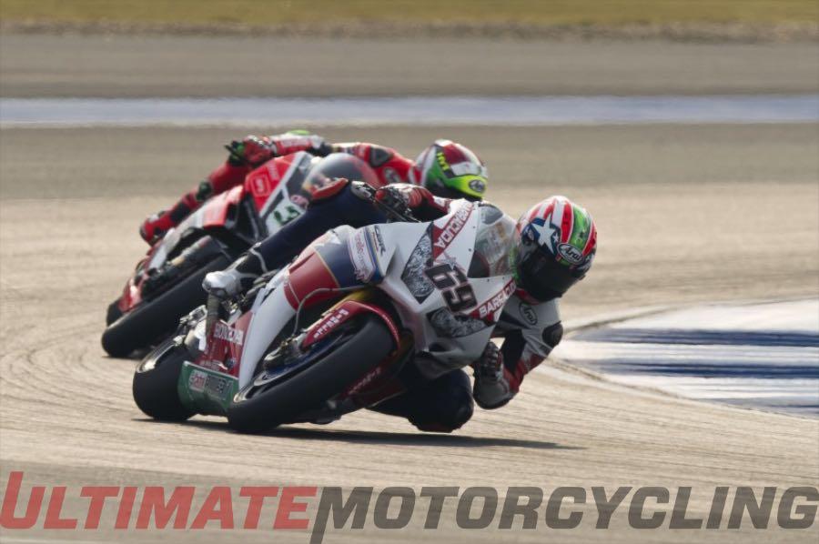 Nicky Hayden at Thailand World Superbike | DNF & 5th