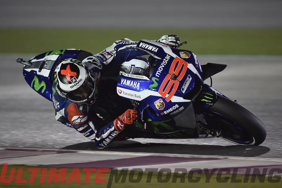 Qatar MotoGP 2016 Friday Practice | Lorenzo Leads Rossi