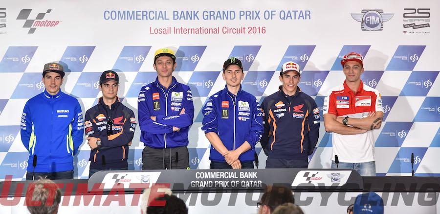Qatar MotoGP 2016 | Rossi & Lorenzo Highlight Pre-Race Talk