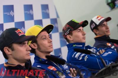 Valentino Rossi at Qatar Preseason Conference