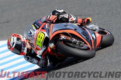 Aprilia Alvaro Bautista to 2016 MotoGP