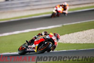 2016 Qatar MotoGP Results Honda Marc Marquez