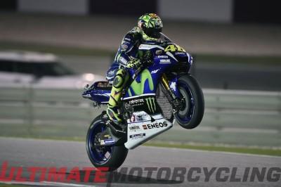 Valentino Rossi at 2016 Qatar MotoGP Results | Losail GP Report