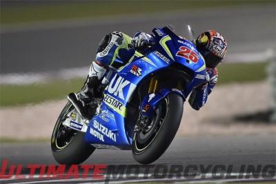 Suzuki Maverick Vinales 2016 Qatar MotoGP Results