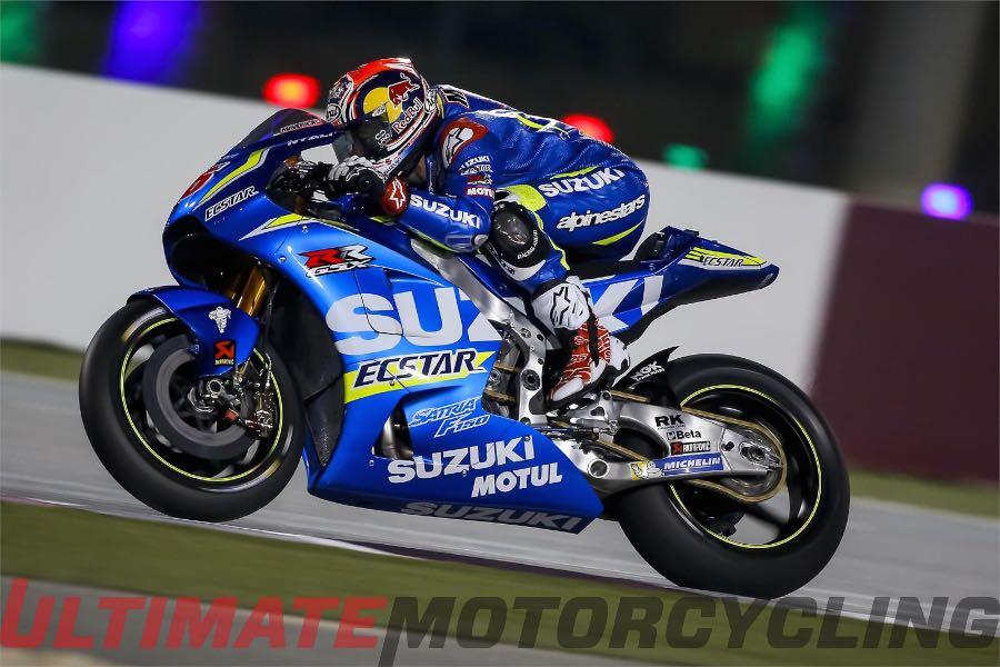 Qatar MotoGP Test Day 2 - Suzuki's Vinales on Top