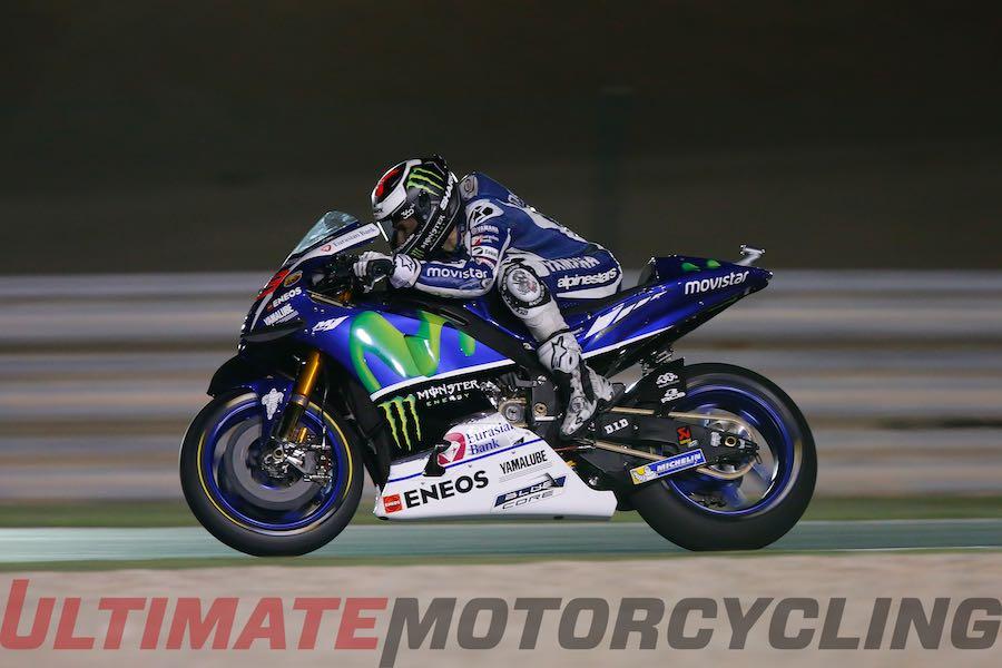 2016 Qatar MotoGP Commentary | Upside  with Jorge Lorenzo