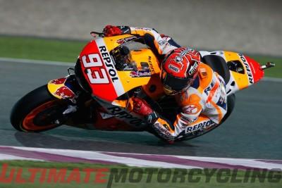 2016 Qatar MotoGP Commentary | Upside with Marc Marquez Repsol Honda