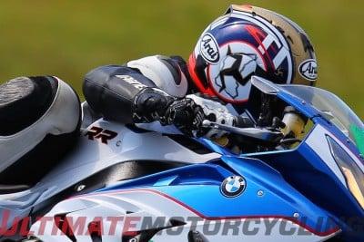 Racer High Speed Gloves Test BMW S1000RR