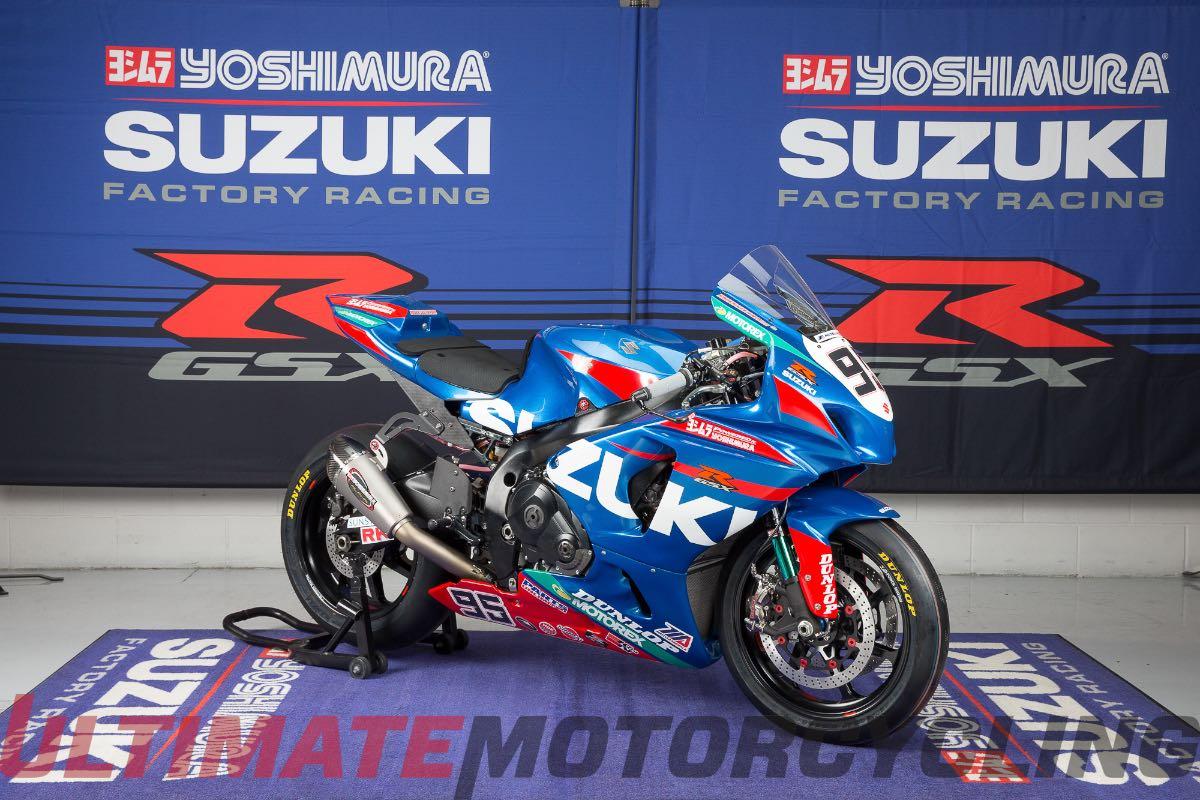 Yoshimura Suzuki Factory Racing Unveils MotoAmerica GSX-R1000