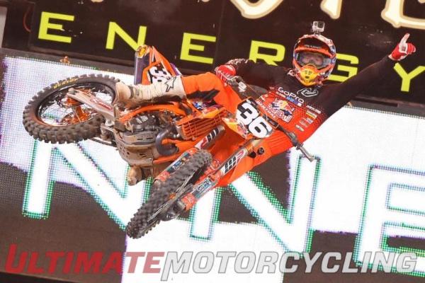 Supercross Toronto 250SX - Justin Hill