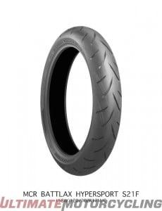 Bridgestone S21 Tire for sale front