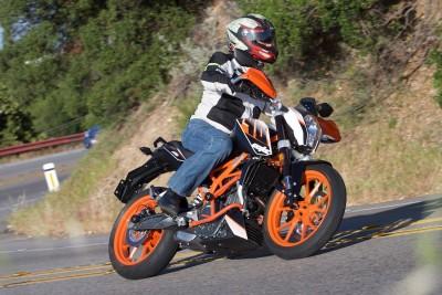 2016 KTM 390 Duke Canyon Rider