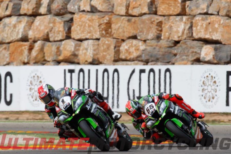 2016 Aragon World SBK Results, Race 2 Results | Kawasaki Racing Duo
