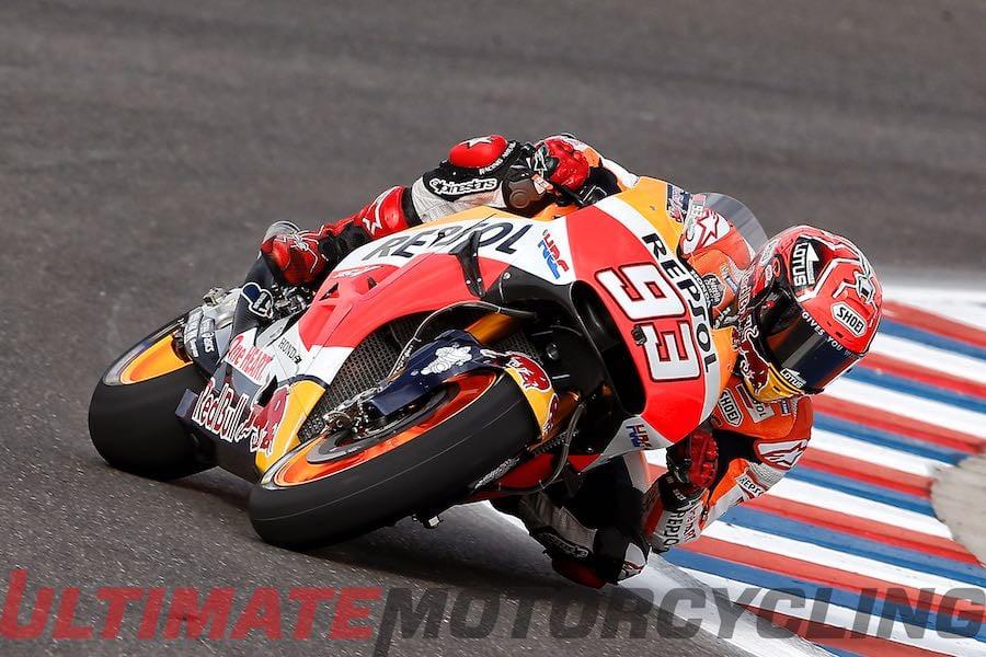 Argentina MotoGP Qualifying | Pole #3 for Marquez