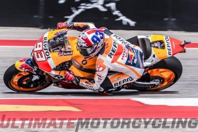 2016 Austin MotoGP Dominated by Honda Marc Marquez
