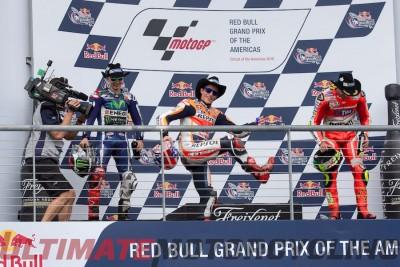 2016 Austin MotoGP Circuit of the Americas Podium