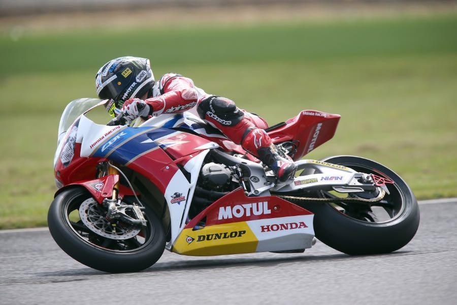 Honda Racing's McGuinness & Cummins Complete Cold UK Test